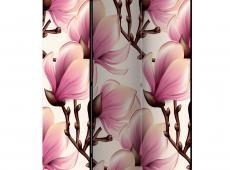 Paraván - Blooming Magnolias [Room Dividers]